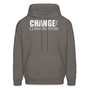Change the Conversation Camo - Men's Hoodie