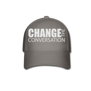 Change the Conversation Camo - Baseball Cap