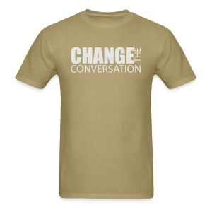 Change the Conversation Camo - Men's T-Shirt