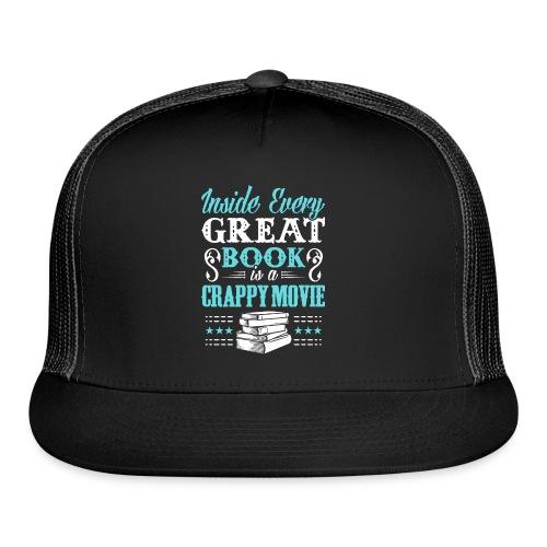 Book Lovers Hoodie - Trucker Cap