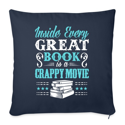 Book Lovers Hoodie - Throw Pillow Cover