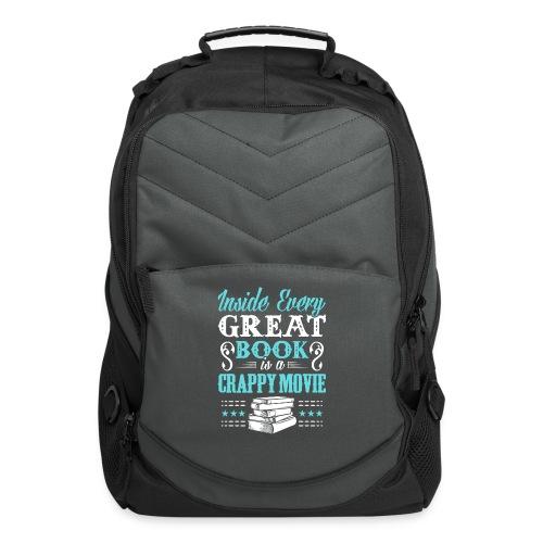 Book Lovers Hoodie - Computer Backpack