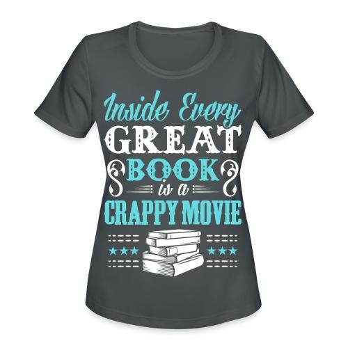 Book Lovers Hoodie - Women's Moisture Wicking Performance T-Shirt