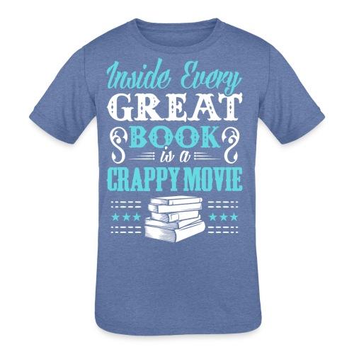 Book Lovers Hoodie - Kid's Tri-Blend T-Shirt