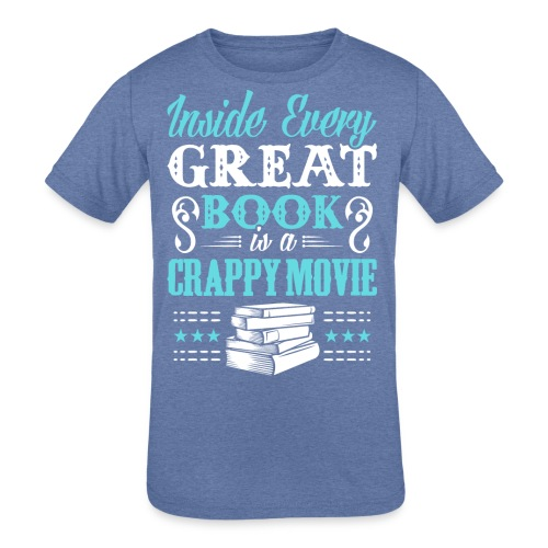 Book Lovers Hoodie - Kids' Tri-Blend T-Shirt