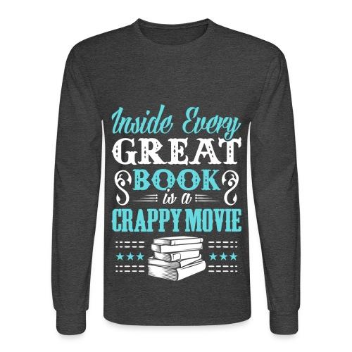 Book Lovers Hoodie - Men's Long Sleeve T-Shirt