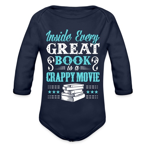 Book Lovers Hoodie - Organic Long Sleeve Baby Bodysuit