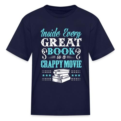 Book Lovers Hoodie - Kids' T-Shirt