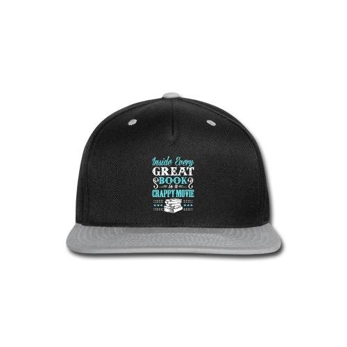 Book Lovers Hoodie - Snap-back Baseball Cap