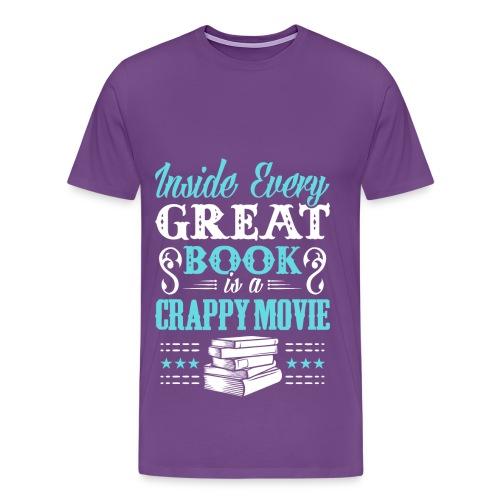 Book Lovers Hoodie - Men's Premium T-Shirt