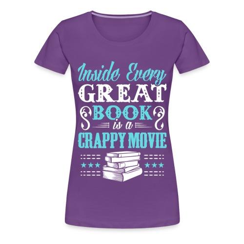 Book Lovers Hoodie - Women's Premium T-Shirt