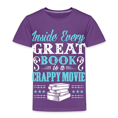 Book Lovers Hoodie - Toddler Premium T-Shirt