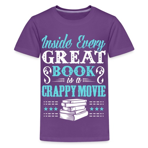 Book Lovers Hoodie - Kids' Premium T-Shirt