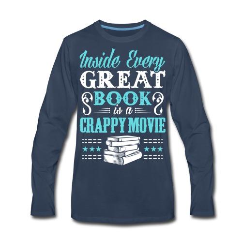 Book Lovers Hoodie - Men's Premium Long Sleeve T-Shirt