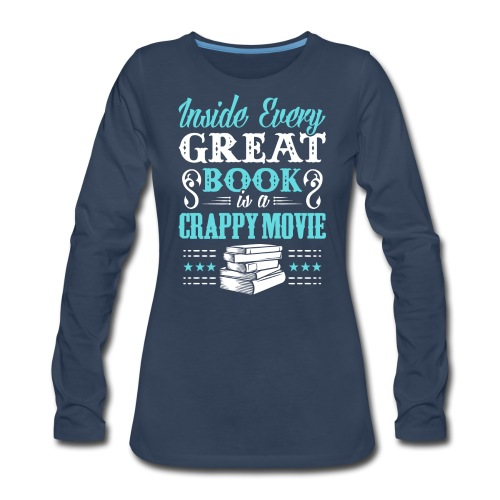 Book Lovers Hoodie - Women's Premium Long Sleeve T-Shirt