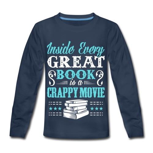 Book Lovers Hoodie - Kids' Premium Long Sleeve T-Shirt