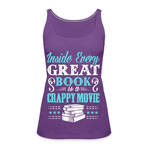 Book Lovers Hoodie - Women's Premium Tank Top