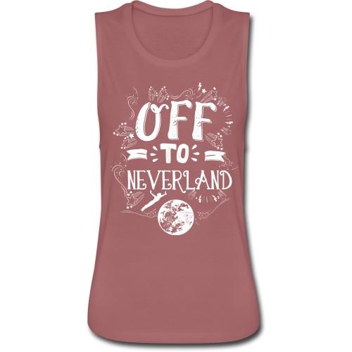 Neverland Women's Hoodie  - Women's Flowy Muscle Tank by Bella