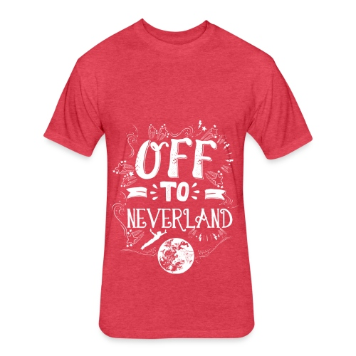 Neverland Women's Hoodie  - Fitted Cotton/Poly T-Shirt by Next Level