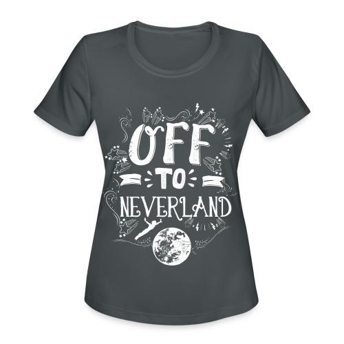 Neverland Women's Hoodie  - Women's Moisture Wicking Performance T-Shirt