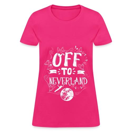 Neverland Women's Hoodie  - Women's T-Shirt