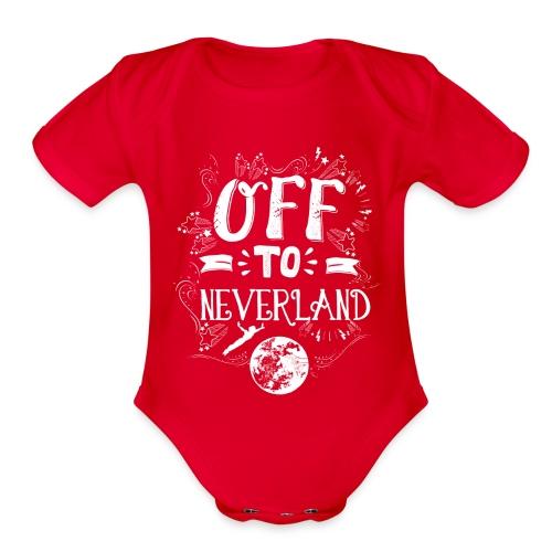 Neverland Women's Hoodie  - Organic Short Sleeve Baby Bodysuit