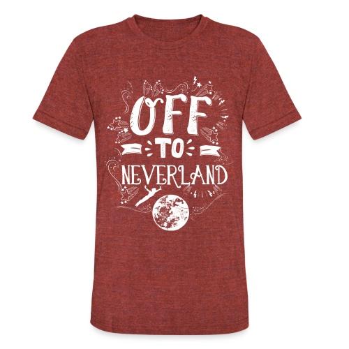 Neverland Women's Hoodie  - Unisex Tri-Blend T-Shirt