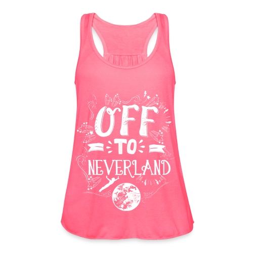Neverland Women's Hoodie  - Women's Flowy Tank Top by Bella