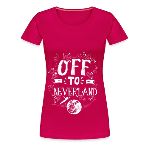 Neverland Women's Hoodie  - Women's Premium T-Shirt