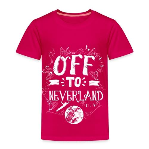 Neverland Women's Hoodie  - Toddler Premium T-Shirt