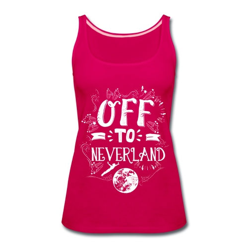 Neverland Women's Hoodie  - Women's Premium Tank Top