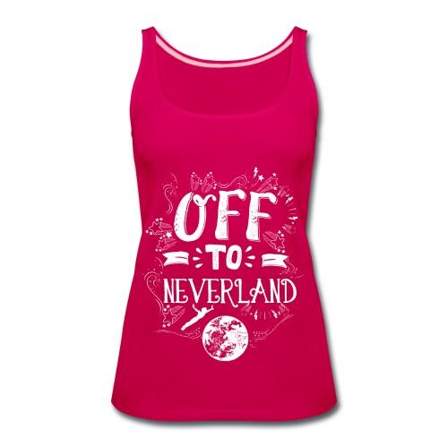 Neverland Women's Hoodie  - Women's Premium Tank Top