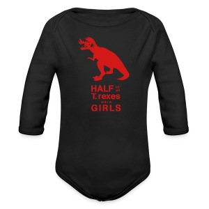 T. rex Kids' Tee - Long Sleeve Baby Bodysuit