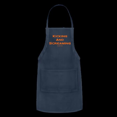 Kicking and Screaming - Mens T-shirt - Adjustable Apron