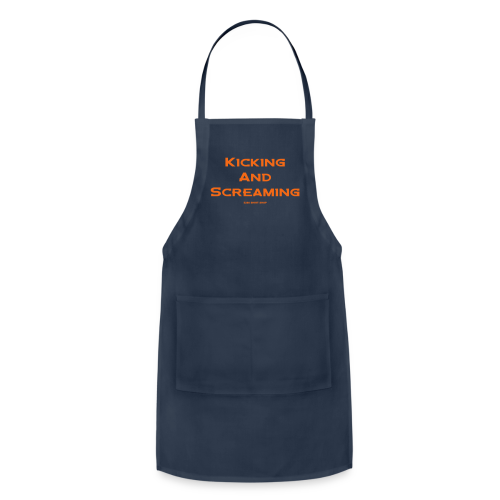 Kicking and Screaming - Mens T-shirt - Adjustable Apron