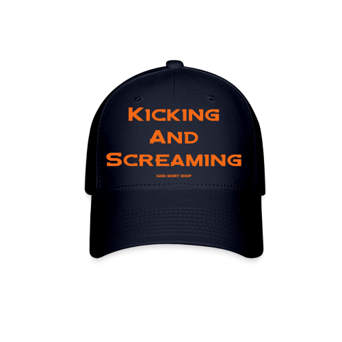 Kicking and Screaming - Mens T-shirt - Baseball Cap