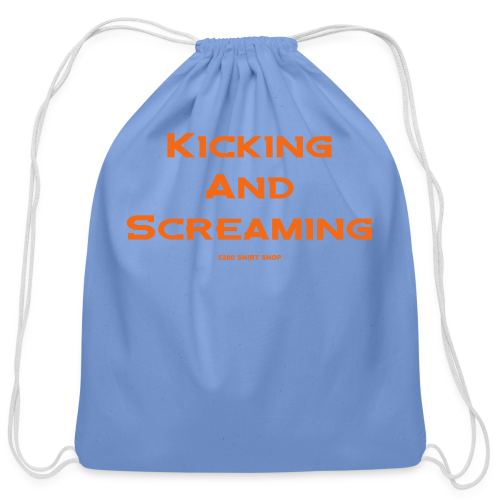 Kicking and Screaming - Mens T-shirt - Cotton Drawstring Bag