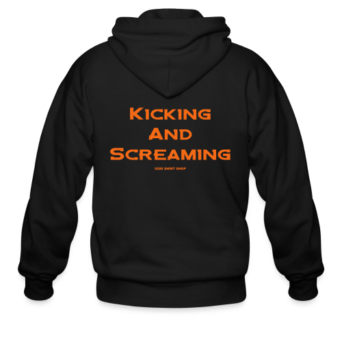 Kicking and Screaming - Mens T-shirt - Men's Zip Hoodie