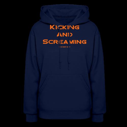 Kicking and Screaming - Mens T-shirt - Women's Hoodie
