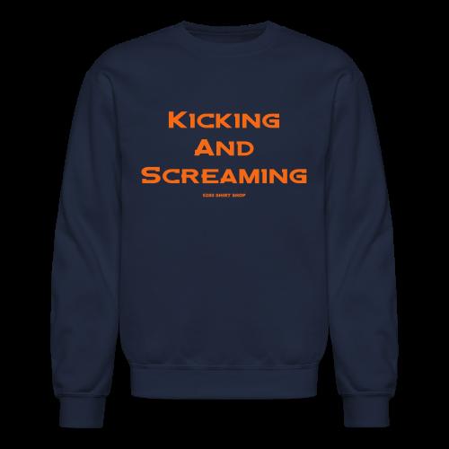 Kicking and Screaming - Mens T-shirt - Crewneck Sweatshirt