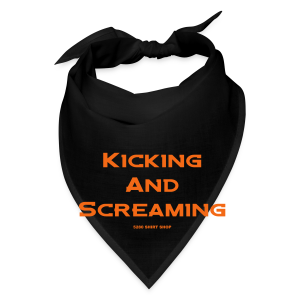 Kicking and Screaming - Mens T-shirt - Bandana