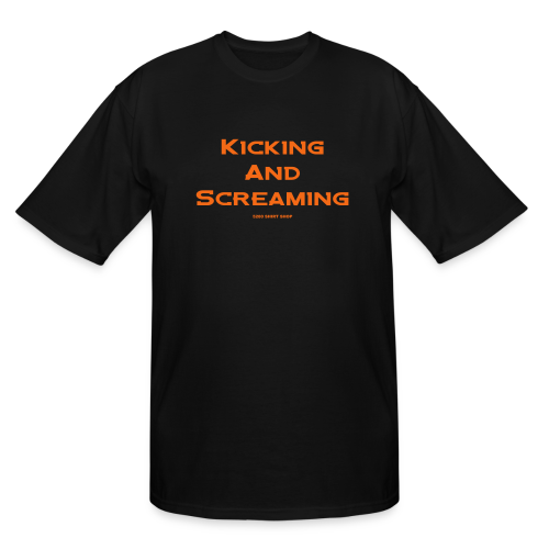 Kicking and Screaming - Mens T-shirt - Men's Tall T-Shirt