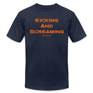 Kicking and Screaming - Hoodie - Men's T-Shirt by American Apparel