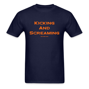 Kicking and Screaming - Hoodie - Men's T-Shirt