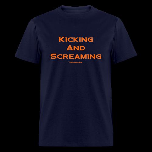 Kicking and Screaming - Hoodie - Men's T-Shirt