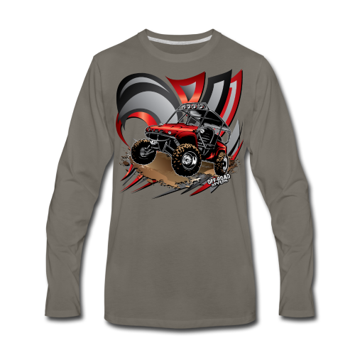 UTV Honda Flaps - Men's Premium Long Sleeve T-Shirt