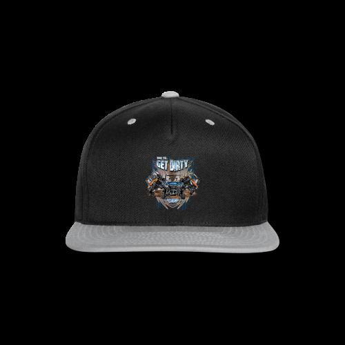 Get Dirty UTV - Snap-back Baseball Cap