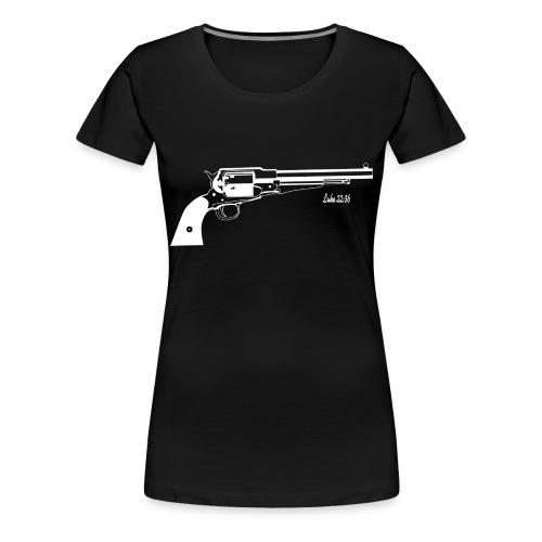 Luke 22:36 Sell Your Cloak - Women's Premium T-Shirt