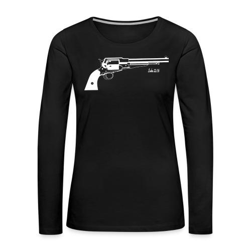 Luke 22:36 Sell Your Cloak - Women's Premium Long Sleeve T-Shirt