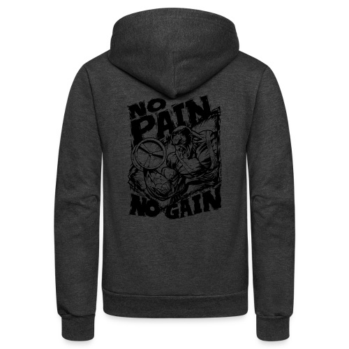No Pain No Gain - Unisex Fleece Zip Hoodie